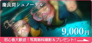 【慶良間シュノーケル 8,000円】初心者大歓迎!写真無料撮影&プレゼント!
