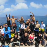 渡名喜島ダイビング