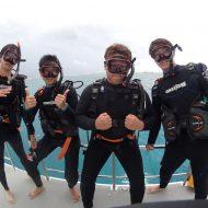 半日体験ダイビング