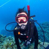 半日ケラマ体験ダイビング